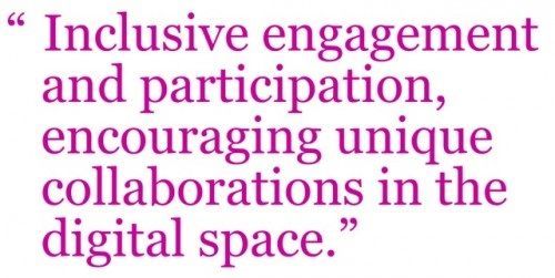 imclusive engagement and participation encouraging unique collaborations in the digital space