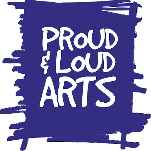 Proud and Loud arts logo