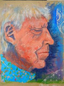 portrait of the artists mother oil on canvas