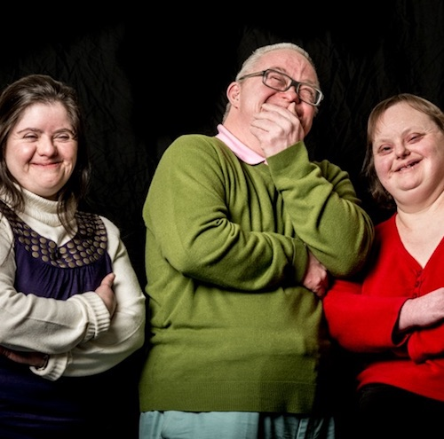 photo - The actors are from left to right: Nicola Brooks, Neil Bramwell and Jane Fradley.